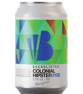 Beerbliotek Colonial Hipster CANS 33cl