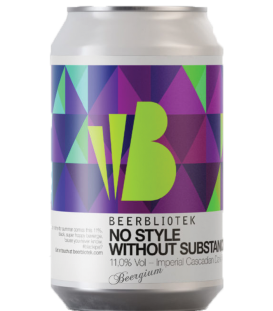 Beerbliotek No Style Without Substance CANS 33cl