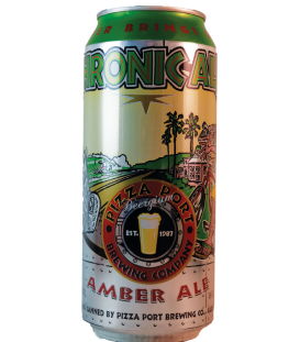Pizza Port Chronic Amber Ale (Cans) 47cl