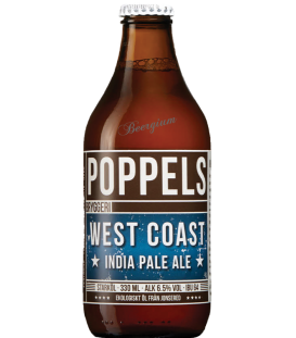 Poppels West Coast IPA 33cl