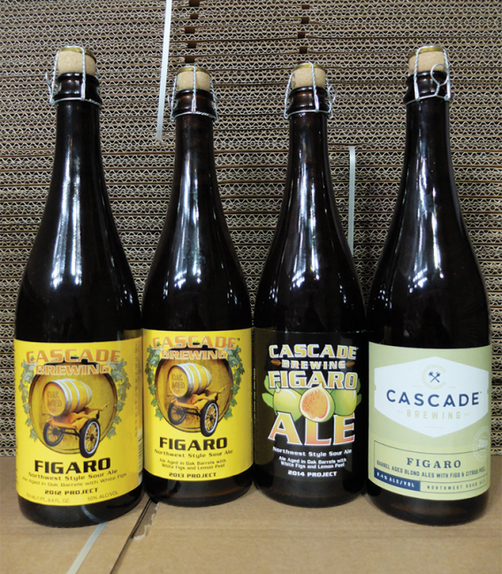 Cascade Figaro Vertical Tasting 75cl