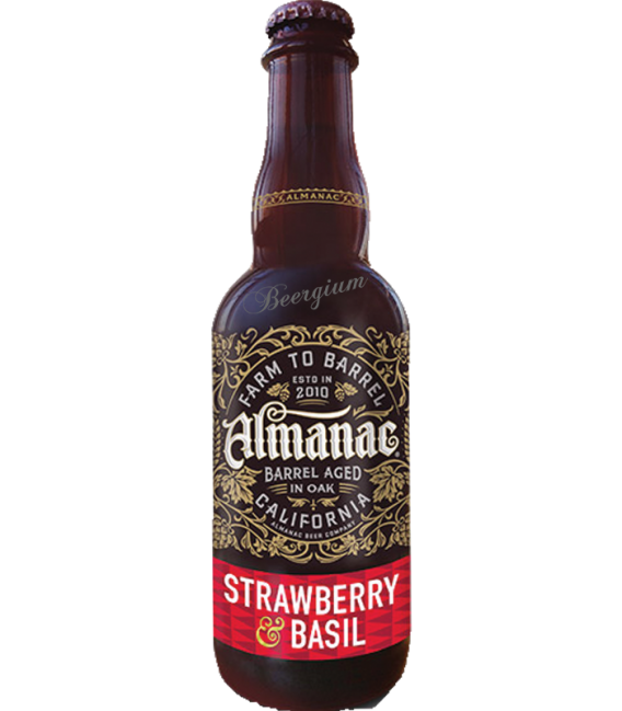 Almanac Strawberry & Basil 37cl