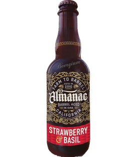 Almanac Strawberry & Basil 37cl