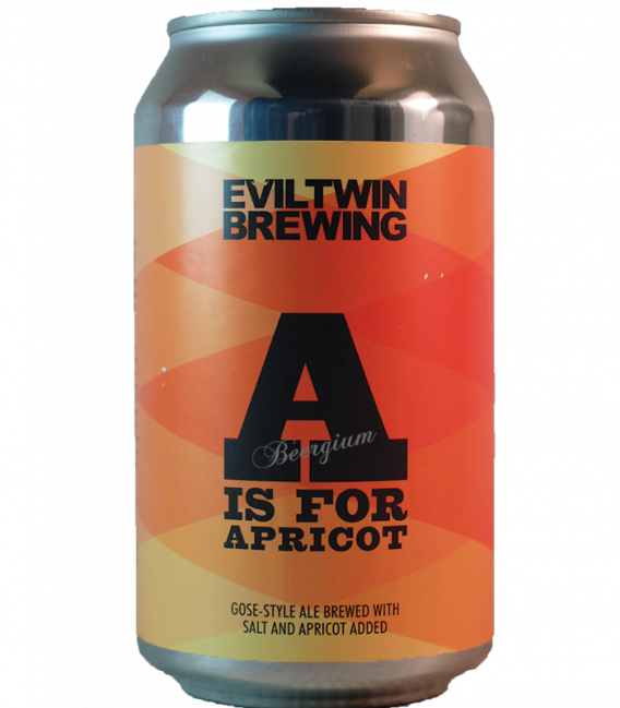 Evil Twin A is for Apricot CANS 35cl