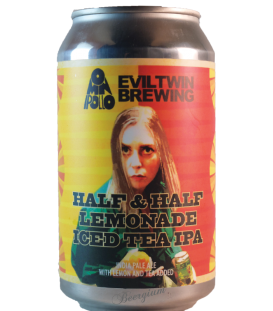 Evil Twin / Omnipollo Half & Half Lemonade Ice Tea IPA CANS 35cl