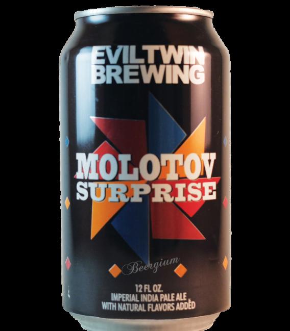 Evil Twin Molotov Surprise Batch 001 Grapefruit CANS 35cl