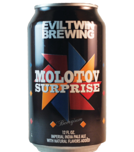 Evil Twin Molotov Surprise Batch 001 Grapefruit CANS 35cl