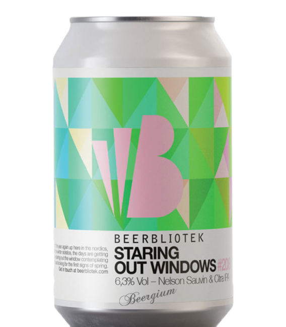 Beerbliotek Staring Out Windows CANS 33cl
