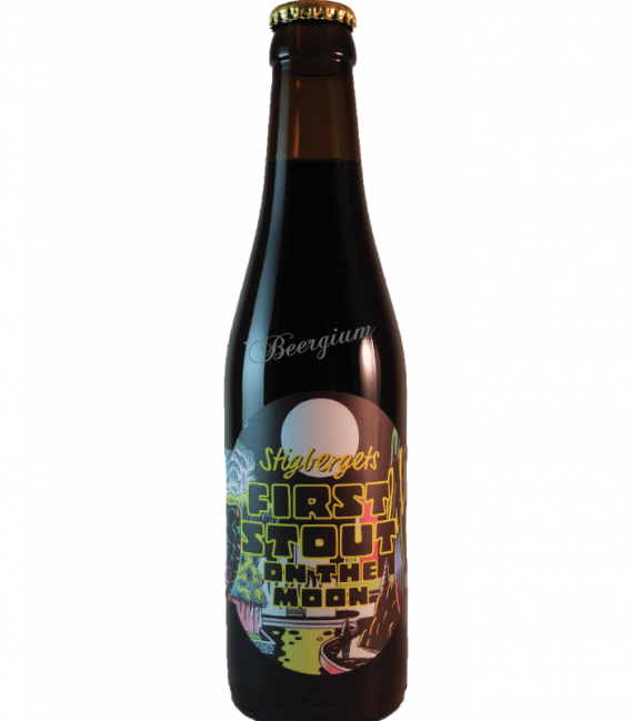 Stigbergets First Stout on The Moon 33cl