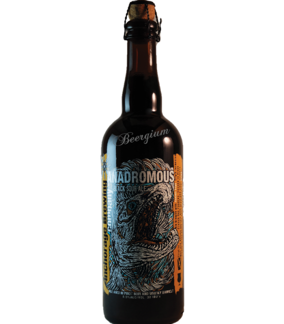 Anchorage Anadromous Belgian Black Bier 75cl