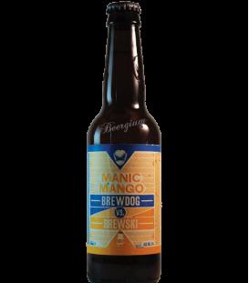 BrewDog / Brewski Manic Mango 33cl -BBF 01-10-2018