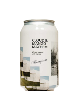 To Øl Cloud 9: Mango Mayhem CANS 33cl - BBF 13-02-2019