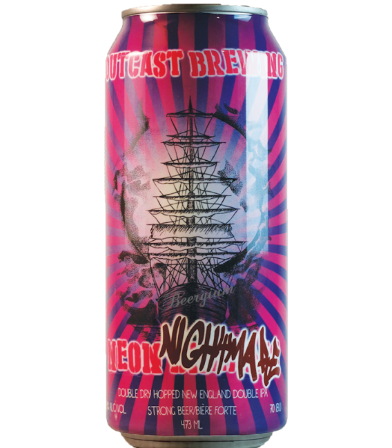 Outcast Neon Nightmare CANS 47cl