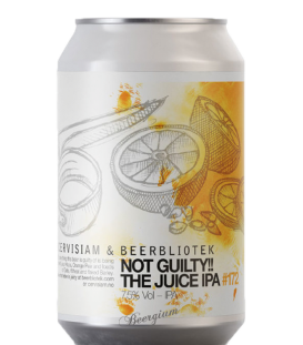 Beerbliotek Not Guilty! The OJ IPA CANS 33cl