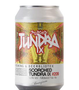 Beerbliotek Scorched Tundra IX CANS 33cl