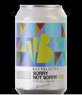 Beerbliotek Sorry Not Sorry CANS 33cl - BBF 05-09-2018
