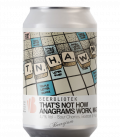 Beerbliotek That's Not How Anagrams Work, Mate CANS 33cl