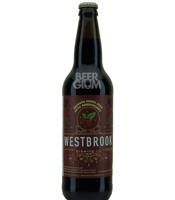 Westbrook 5th Anniversary 2015 Bourbon Barrel Aged 65cl