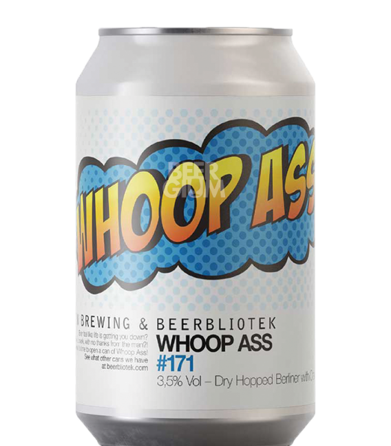 Beerbliotek / All In Brewing Whoop Ass CANS 33cl