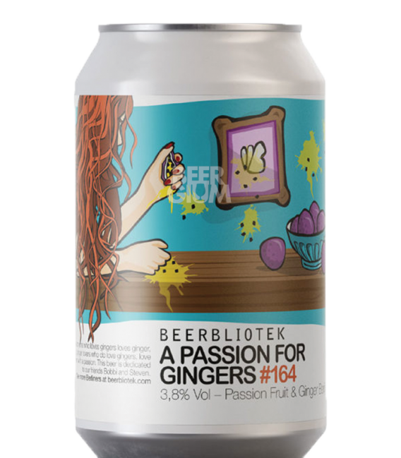Beerbliotek A Passion For Gingers CANS 33cl
