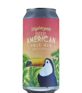Stigbergets American Pale Ale Amarillo Citra CANS 44cl - BBF 14-05-2019