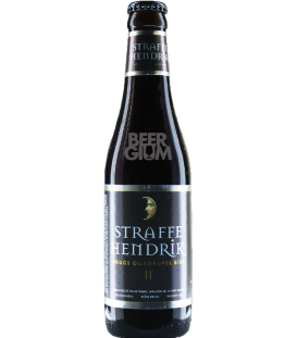 Straffe Hendrik Brugs Quadrupel 33cl