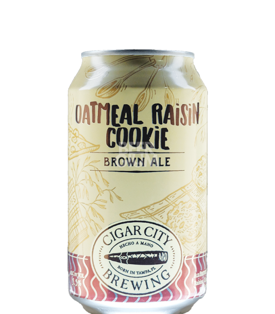 Cigar City Oatmeal Raisin Cookie Brown Ale CANS 35cl