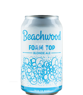 Beachwood Foam Top Blonde Ale CANS 35cl
