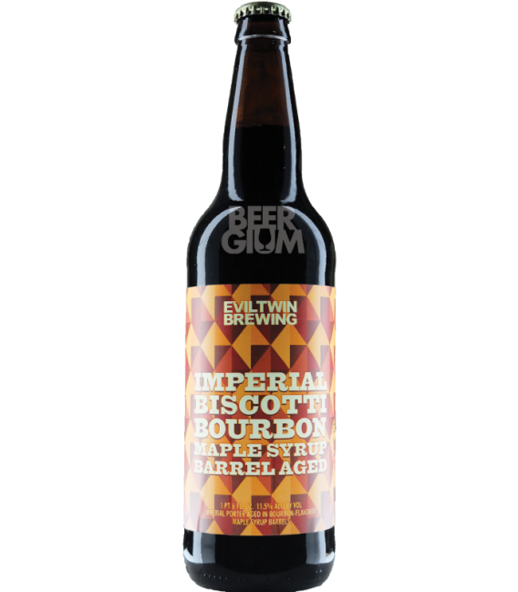 Evil Twin Imperial Biscotti Break Bourbon Maple Syrup Barrel Aged 65cl