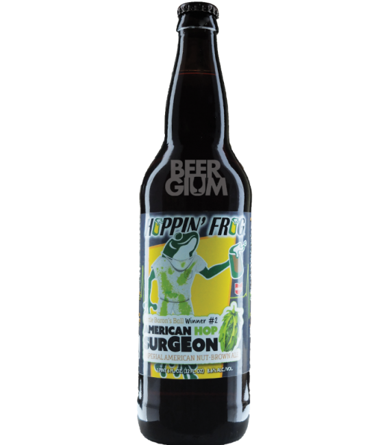Hoppin' Frog American Hop Surgeon 65cl