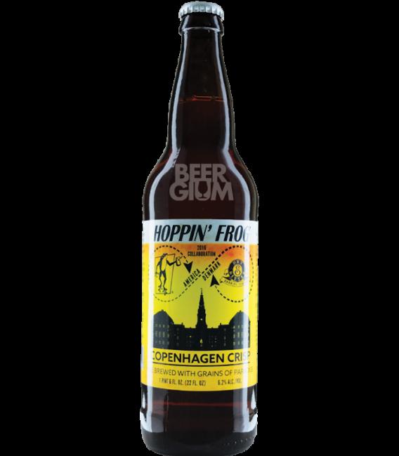 Hoppin' Frog / Dry & Bitter Copenhagen Crisp 65cl