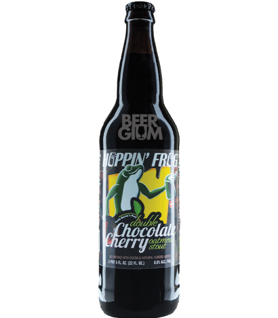 Hoppin' Frog Double Chocolate Cherry Oatmeal Stout 65cl