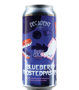 Decadent Ales Blueberry Frosted Pastry CANS 47cl