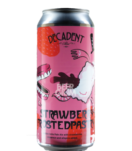 Decadent Ales Strawberry Frosted Pastry CANS 47cl