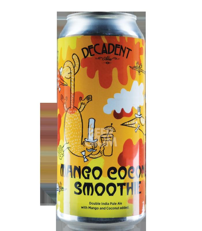 Decadent Ales Mango Coconut Smoothie CANS 47cl - Beergium