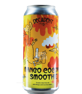 Decadent Ales Mango Coconut Smoothie CANS 47cl