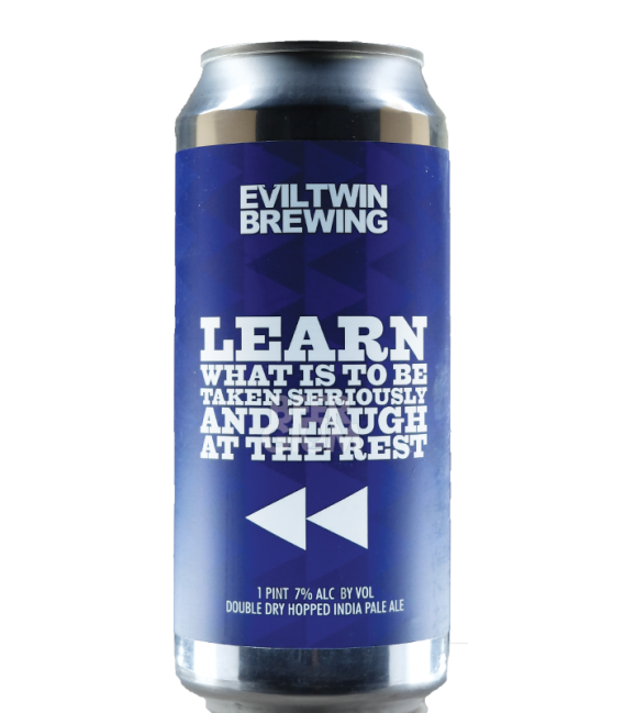 Evil Twin Learn What Is to Be Taken Seriously and Laugh at the Rest CANS 47cl
