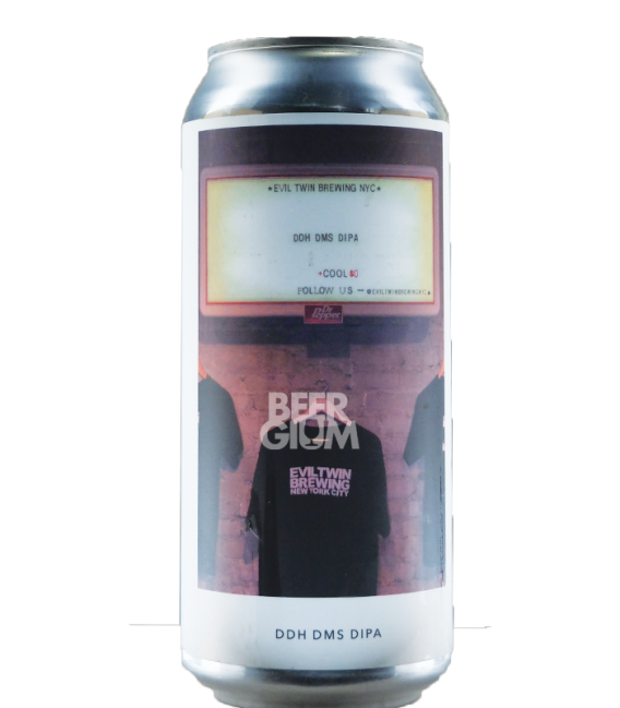 Evil Twin NYC DDH DMS DIPA CANS 47cl