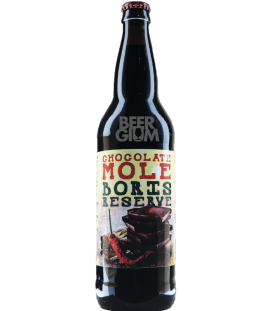 Hoppin' Frog Chocolate Mole BORIS Reserve 65cl
