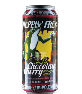 Hoppin' Frog Double Chocolate Cherry Oatmeal Stout CANS 47cl