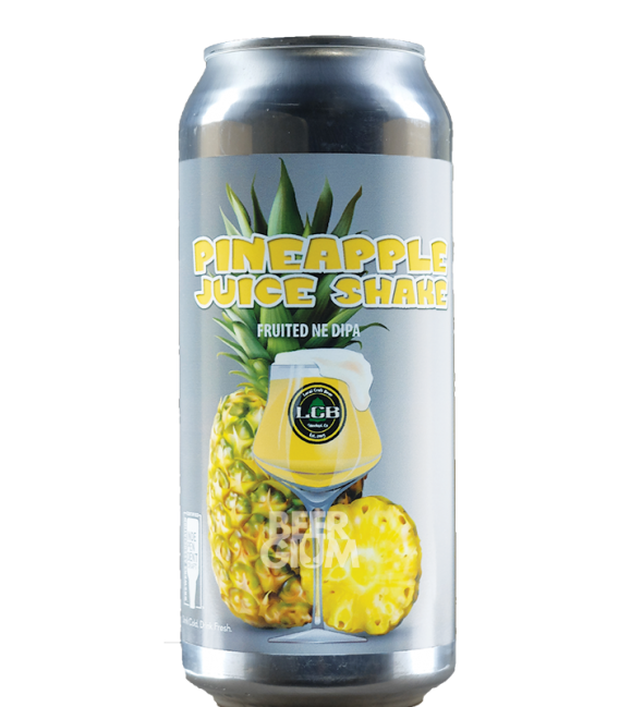 Local Craft Beer Pineapple Juice Shake CANS 47cl