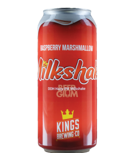 Kings Raspberry Marshmallow Milkshake CANS 47cl