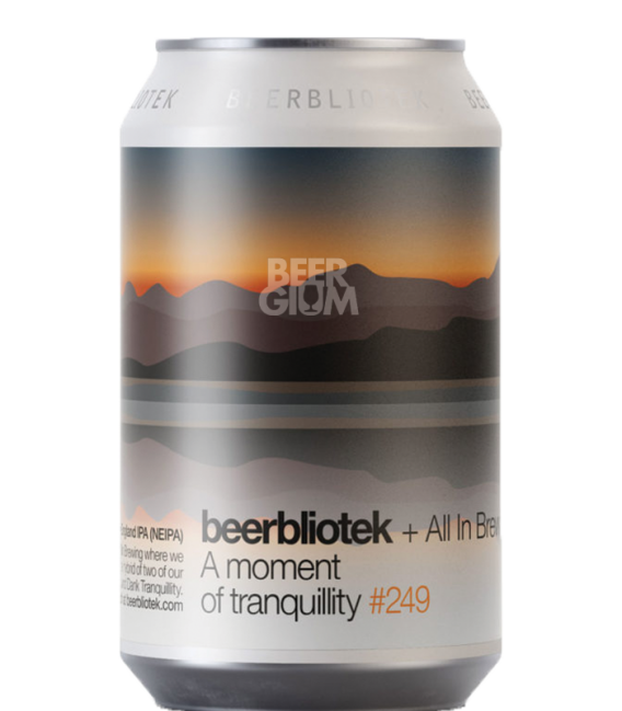 Beerbliotek / All In Brewing A Moment of Tranquility CANS 33cl