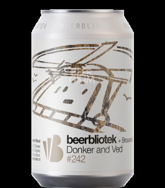 Beerbliotek / De Molen Donker And Ved CANS 33cl