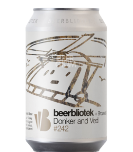 Beerbliotek / De Molen Donker And Ved CANS 33cl