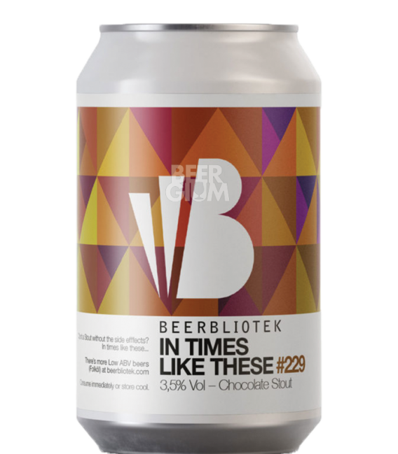 Beerbliotek In Times Like These CANS 33cl