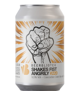 Beerbliotek Shakes Fists Angrily CANS 33cl