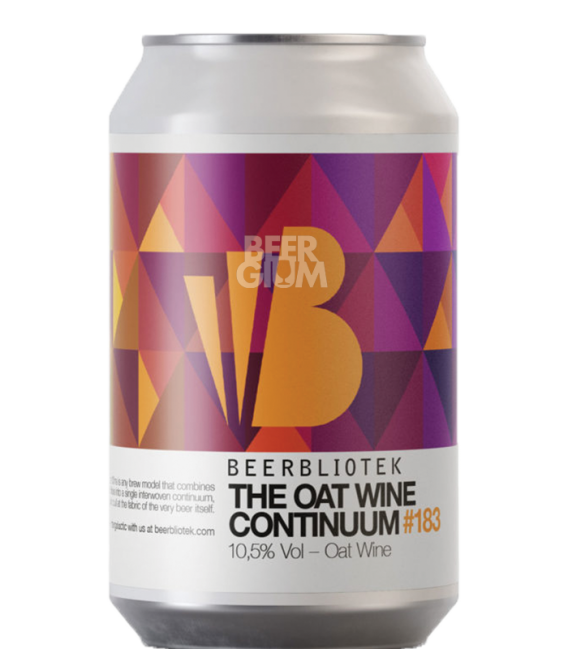 Beerbliotek The Oat Wine Continuum CANS 33cl