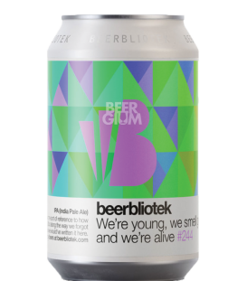 Beerbliotek We're Young, We Smell Good & We're Alive CANS 33cl