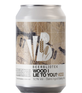 Beerbliotek Wood I Lie To You? CANS 33cl